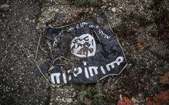 Флаг радикальной  группировки ИГИЛ. © РИА Новости, Андрей Стенин