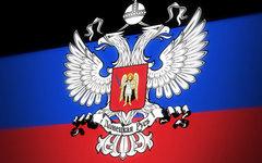Флаг Донецкой Народной Республики