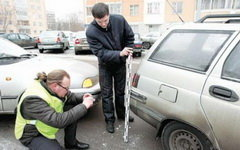 Оценка ущерба ДТП. Фото с сайта wazzup.su