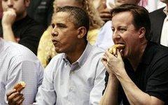 Барак Обама и Дэвид Кэмерон. Фото с сайта sgformen.com