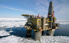 Нефтедобывающая платформа «Газпрома». Фото с сайта gazprom.ru