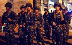 Тайские военные. Фото пользователя Instagram @lisaapelts