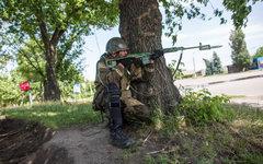 Боец народного ополчения © РИА Новости, Андрей Стенин