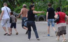 Беженцы из Луганска © РИА Новости, Евгений Биятов