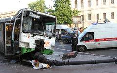 Место происшествия. Фото с сайта 78.mchs.gov.ru