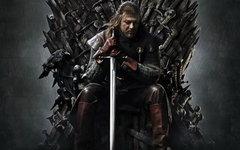 Фрагмент постера к сериалу «Игра престолов»