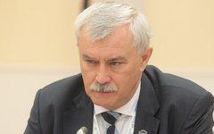 Георгий Полтавченко. Фото с сайта gov.spb.ru
