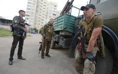 Бойцы народного ополчения в Донбассе © РИА Новости, Евгений Биятов
