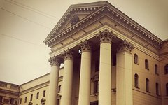 Здание КГБ в Минске Фото пользователя Instagram peshkovphilip