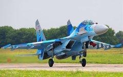 Су-27 ВВС Украины. Фото с сайта airliners.net