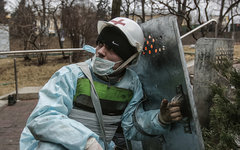 Медик Майдана © РИА Новости, Андрей Стенин