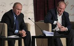 Владимир Путин и Владимир Толстой. Фото с сайта kremlin.ru