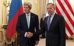 Джон Керри и Сергей Лавров. Фото с сайта mid.ru
