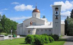 Преображенский собор Ново-Валаамского монастыря. Фото Matti с сайта wikimedia.or
