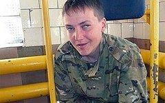 Надежда Савченко. Стоп-кадр с видео в YouTube