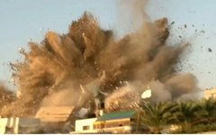Обстрел сектора Газа. Фото пользователя Twitter @ThisIsGaZa