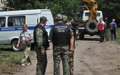 Место происшествия в Донецке Ростовской области © РИА Новости, Сергей Пивоваров