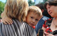 Беженцы с юго-востока Украины. Фото с сайта adygheya.ru