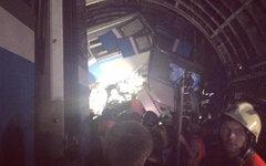 Место происшествия. Фото пользователя Instagram maksim_pushkin