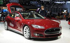 Tesla Model S. Фото Norbert Aepli с сайта wikimedia.org