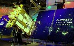 Модель спутника «Глонасс-К». Фото с сайта wikipedia.org