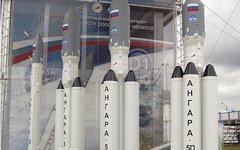 Макет ракеты «Ангара». Фото с сайта wikimedia.org