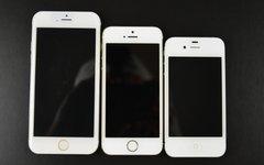 Слева направо: iPhone 6, 5, 4. Фото с сайта sonnydickson.com
