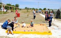 Дети-беженцы в Ростовской области. Фото пресс-службы регионального отделения МЧС