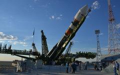 РКН Союз-2-1а с «Фотон-М4» на стартовой площадке космодрома Байконур
