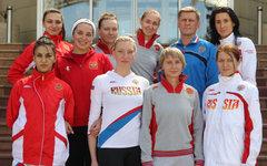 Женская сборная России по фехтованию © РИА Новости, Михаил Мокрушин