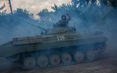 БМП ополченцев © РИА Новости, Андрей Стенин