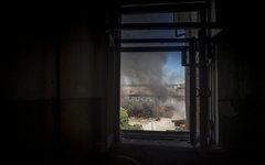 Последствия обстрела Луганска © РИА Новости, Валерий Мельников