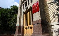 Вход в здание Минздрава © KM.RU, Илья Шабардин