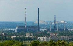 Славянская ТЭС. Фото с сайта de.com.ua