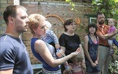 Украинские беженцы. Фото с сайта donland.ru