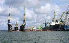 Клайпедский порт. Фото с сайта wikipedia.org