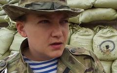 Надежда Савченко. Стоп-кадр видео с Youtube