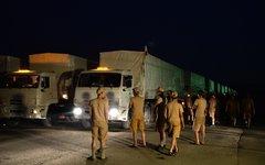 Отправка гуманитарного конвоя на Украину© РИА Новости, Максим Блинов