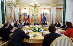 Заседание стран-участниц Таможенного союза © РИА Новости, Дмитрий Астахов