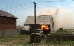 Cпецоперация по задержанию боевиков © РИА Новости