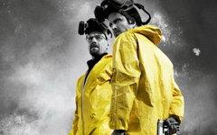 Фрагмент постера к сериалу «Во все тяжкие»