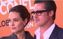 Анджелина Джоли и Брэд Питт. Стоп-кадр с YouTube