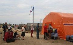 Пункт временного проживания беженцев. Фото с сайта admkrai.krasnodar.ru