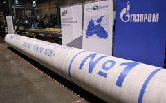 Труба № 1 для морского участка газопровода «Южный поток». Фото с сайта gazprom.r
