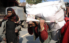 Беженцы в Непале © РИА Новости, Владимир Астапкович