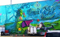 Стрит-арт. Фото c личной страницы Георгия Куринова в «ВКонтакте»