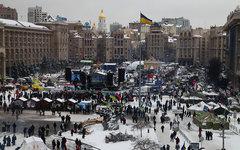 Майдан в Киеве зимой 2014-го © KM.RU, Алексей Белкин