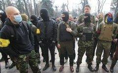 Активисты «Правого сектора». Фото с сайта trust.ua