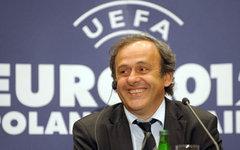 Президент УЕФА Мишель Платини. Стоп-кадр с видео в YouTube