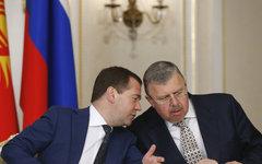 Дмитрий Медведев и Андрей Бельянинов © РИА Новости, Дмитрий Астахов